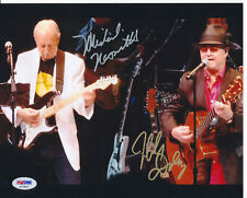 MICHAEL NESMITH MICKY DOLENZ Signed 8X10 Photo Meet & Greet Only Monkees PSA/DNA