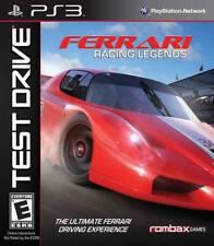 PS3 Test Drive: Ferrari Racing Legends (PlayStation 3, Rombax) Brand New/Sealed