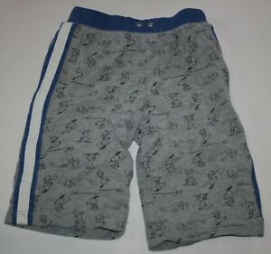 Used Hanna Andersson Boys 12 year 150cm Shorts Snoopy Woodstock Pull On Knit
