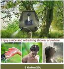 Portable 20L Shower Heating Pipe Bag Solar Water Heater Outdoor Camping Camp