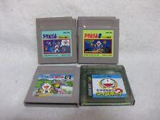 Lot 4 Doraemon Game Boy Japan Nintendo Video Games