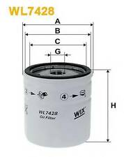 WIX FILTERS WL7428 OIL FILTER  RC516990P OE QUALITY