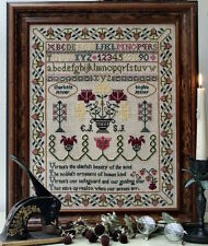10% Off The Sampler Company Counted X-stitch chart - Charlotte & Sophia Sampler