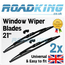 "2x 21"" Deluxe Front Blades Windscreen Window Wipers 