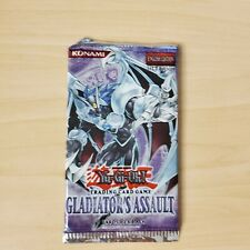 Yu-Gi-Oh 1st Edition Gladiators Assault Booster Pack(Konami) [very rare to find]