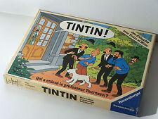 Tintin: Qui a Enlevé le Professeur Tournesol? Vintage Board Game - Ravensburger