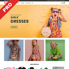 Premium Dropshipping Website | KIDS FASHION STORE | Automated Business