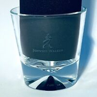 JOHNNIE WALKER COLLECTIBLE ROCKS, DIAMOND LOOK BOTTOM, NEW, WHISKEY GLASS