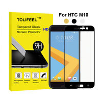 9H Full Cover Tempered Glass Screen Protector For HTC 10 M10 Protective Guard
