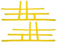 Suzuki LTR 450 LTR450   Nerf Bar Nets  Pro Peg   Fits Alba Tusk Yellow   H