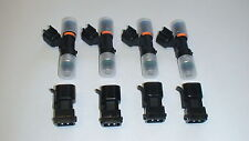 4 NEW Genuine Bosch EV14 52lb 550cc fuel injectors 2002-06 Acura RSX K20  type S