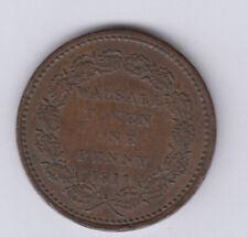 UK Copper Token Penny Fletcher & Sharratt, Bear (R429)