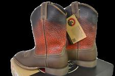Red Wing Irish Setter Men's Deadwood Boots-12 M-Brown Burnt Orange