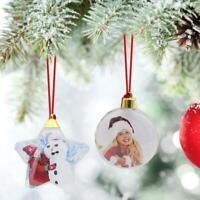 Árbol de navidad haciendo bricolaje foto transparente cinco estrellas bola decor