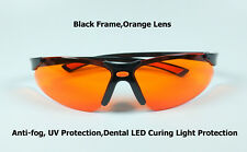 feb2b0d225 1Pc Anti-Niebla Seguridad Gafas Gafas Protectoras médicos Gafas Naranja UV  dental
