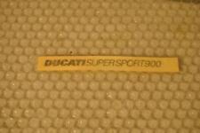 DUCATI ADESIVI  /STICKERS OEM ORIGINAL  DUCATI  SUPERSPORT 900 SS