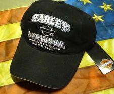 HARLEY DAVIDSON LADIES BLACK PINK HAT CAP New