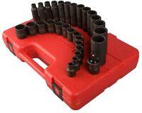 Sunex 3330 Tools 29-piece 3/8 In. Drive 12-point Master Metric Impact Socket Set