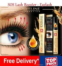 Eveline SOS Lash Booster Multi-purpose Eyelash Serum 5 in 1 With Argan Oil 10ml