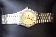 EBEL CLASSIC DIAMOND WAVE 18K / STEEL
