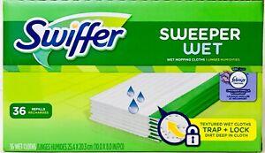 Swiffer Sweeper Wet Febreze Freshness Lavender Vanilla & Comfort 36 Ct Cloths
