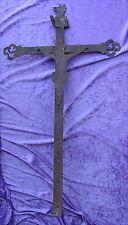 Antikes Grabkreuz Eisen Handgeschmiedet 18.Jahrhundert