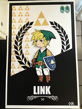Zelda Link poster print