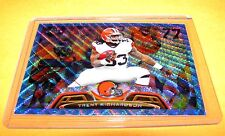 TRENT RICHARDSON -  2013 Topps Chrome BLUE WAVE Refractor - Indianapolis Colts