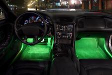 ✔ Reino Unido 42mm 8 Smd 5050 LED coche Interior Exterior Domo Festoon bombilla luz 12v Verde