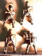 Lotto 4 soldatini a cavallo di SOLDATINO METALLO KINDER SORPRESINA Metallfiguren