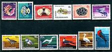 Cocos Islands 8-19, MNH 1969 Shells Blenny fish Coral Flying fish Birds:  x11440