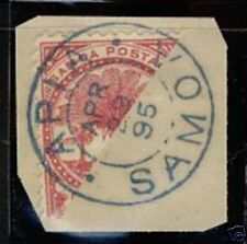 Samoa  1895  Scott #18a  USED cut Cover