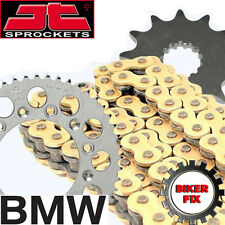 GOLD X-Ring Chain & and Sprocket Set Kit BMW F650 FUNDURO 1996-2000