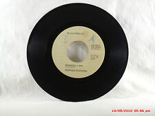 ELVIS PRESLEY -(45)- IT'S MIDNIGHT / PROMISED LAND  THE B SIDE WAS THE HIT -1974