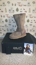 EMU ladies sheepskin boots size 4 colour mushroom