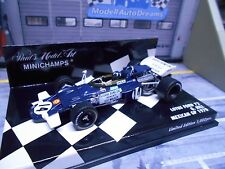 F1 LOTUS Ford Cosworth V8 Mexican GP 1970 #14 G. Hill Bob Walker Minichamps 1:43