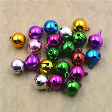 6~25mm Copper Jingle Bell Dangle Charms Pendant Jewelry Making Pet Bell