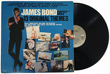 JAMES BOND 13 ORIGINAL THEMES Lp 1983 LIBERTY/MGM LO-51138 Live and Let Die