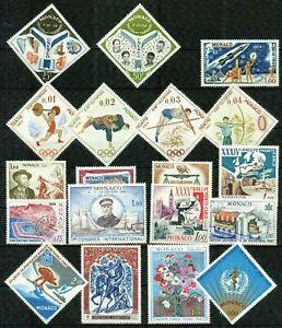 MONACO – 1958-1992 – COLLECTION– VF  **