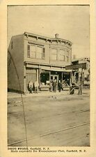 A View Of The Owner & Staff Posing In Front Of The Drug Store, Garfield NJ