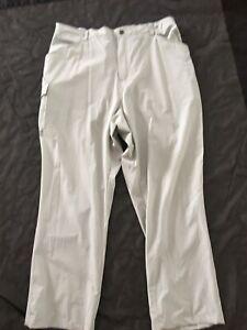 AFTCO American Fishing Tackle Co Fishing Gray Cargo Pants Sz XXL Men's Inseam 31