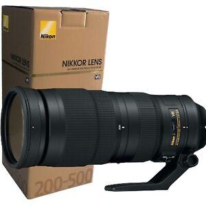 New Nikon AF-S NIKKOR 200-500mm f/5.6 E ED VR Lens