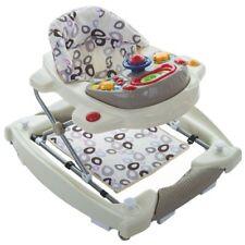 Lauflernhilfe IVORY Gehfrei Laufhilfe Baby Walker Babyschaukel Babywippe BEIGE