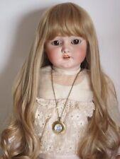 Perruque blond clair Jumeau®T38/40cm(15/16)poupée ancienne moderne-Ash blond Wig