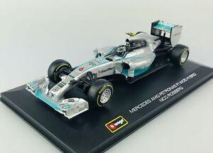 BBURAGO RACE F1 MERCEDES AMG PETRONAS W05 #6 NICO ROSBERG 1:32 NEW FORMULA