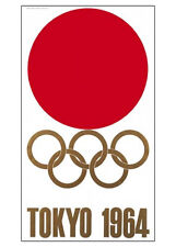 TOKYO JAPAN 1964 Summer Olympic Games Official Olympic Museum POSTER Reprint