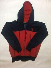 Adidas Red Navy Vintage one pocket light jacket Medium Mens Rare