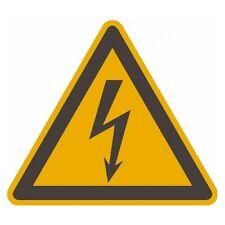 SafetyMarking® Warnschild Alu 200 mm elektrische Spannung