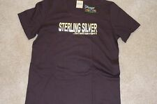 """NEW LADIES T w""""STERLING SILVER"""" T-Shirt  X-Large"""