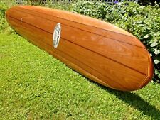 "ABSOLUTELY GORGEOUS 10'2"" DONALD TAKAYAMA DT2 WOOD VENEER SURFTECH SURFBOARD"